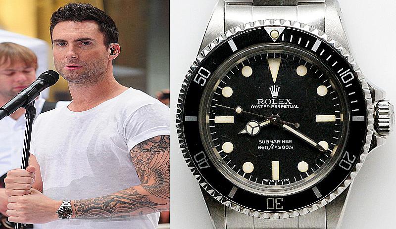 Adam Levine - Rolex Oyster