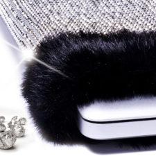 Pokrowiec na laptopa pokryty ponad 8800 diamentami!