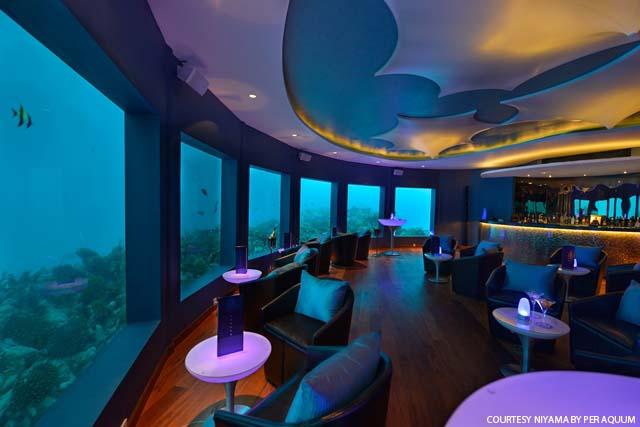 Restauracja Edge, Niyama Malediwy