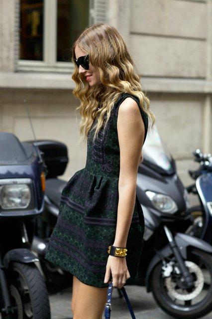 Dziergana sukienka, Louis Vuitton