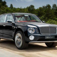 Pierwszy w historii SUV od Bentley'a