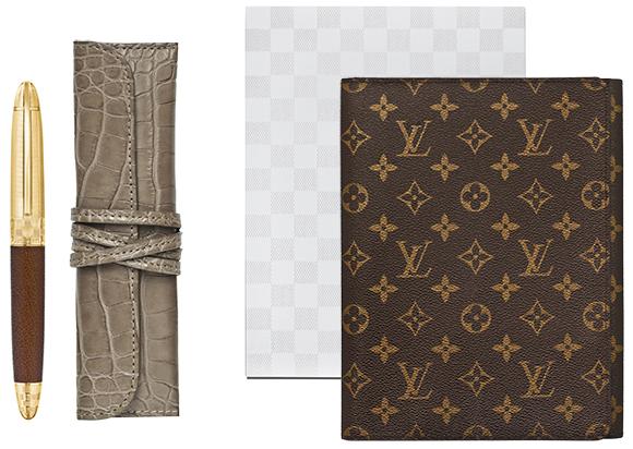 Zestaw do pisania z papeterią Louis Vuitton