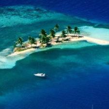 Wyspa Goff's Caye, Belize