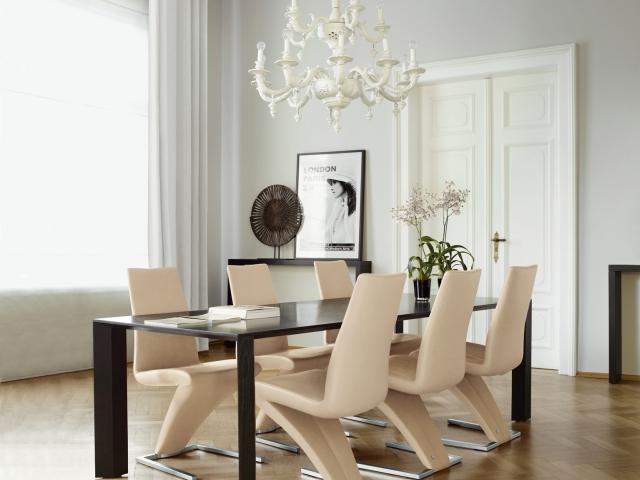 Krzesła do jadalni, Rolf Benz