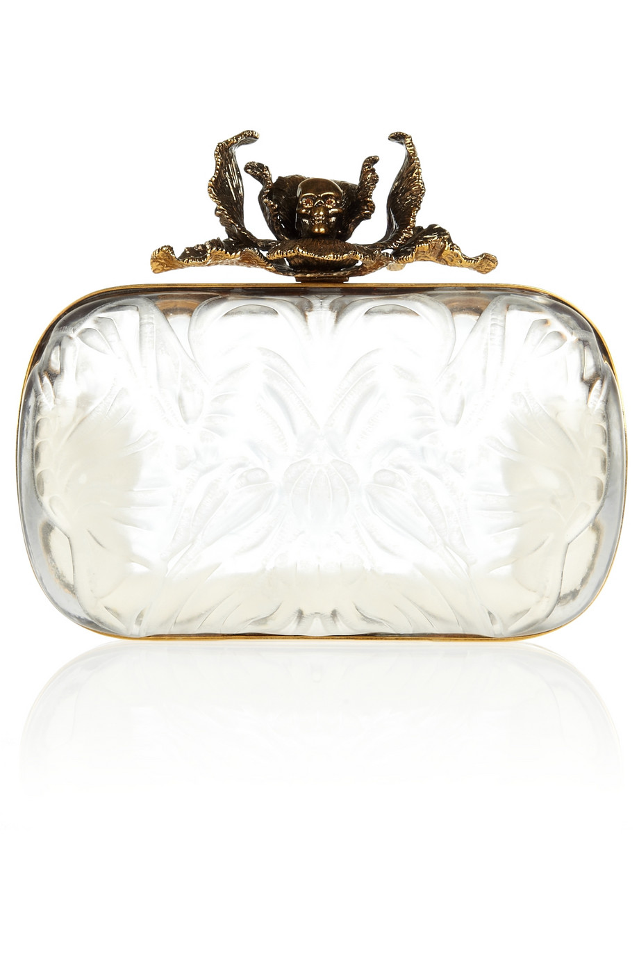 Torebka Alexander McQueen Iris Box Clutch
