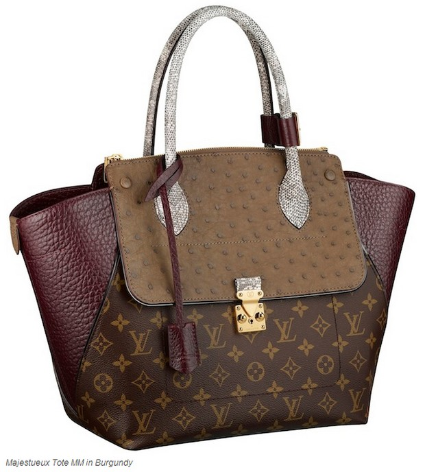 Louis Vuitton kolekcja Monogram Majestueux