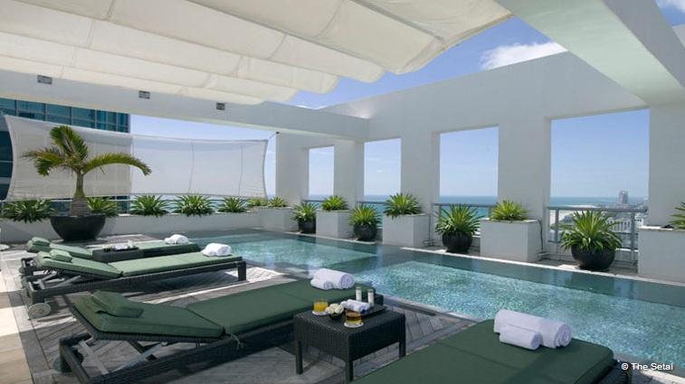 Piękny penthouse w Miami
