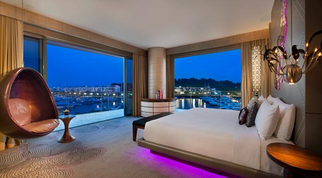 """Oszałamiający hotel """"W"""" w Singapurze (galeria)"""