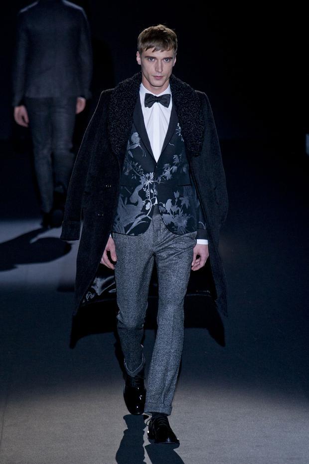Kolekcja Gucci men jesień/zima 2013/14
