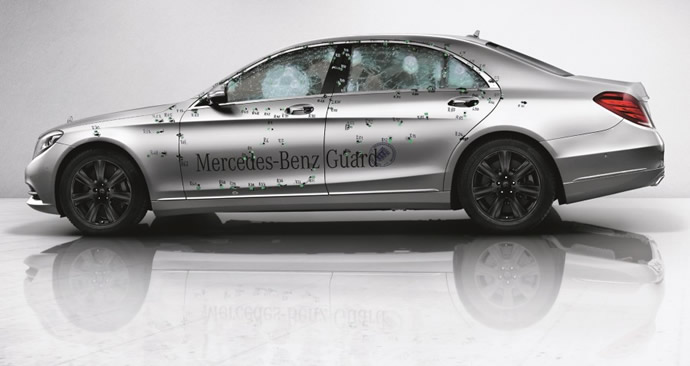 Mercedes S600 Guard – pancerna limuzyna