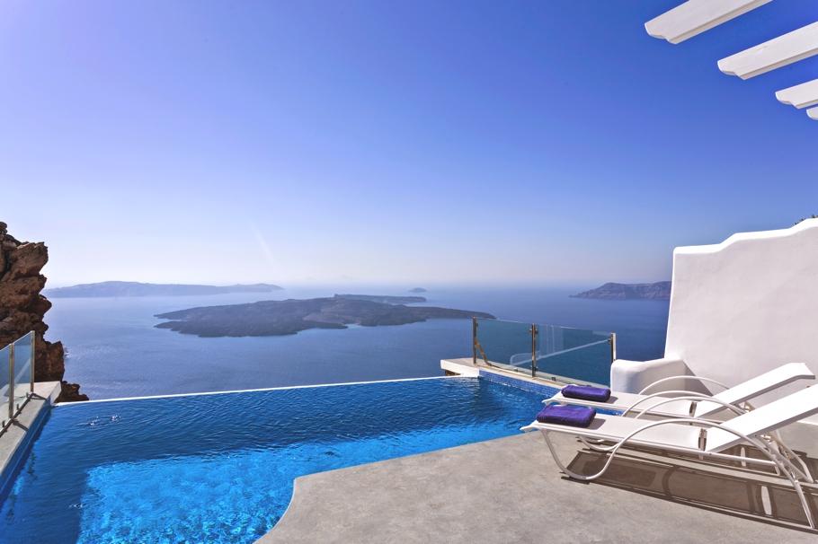 Angels & Stars SPA – zjawiskowy hotel na Santorini