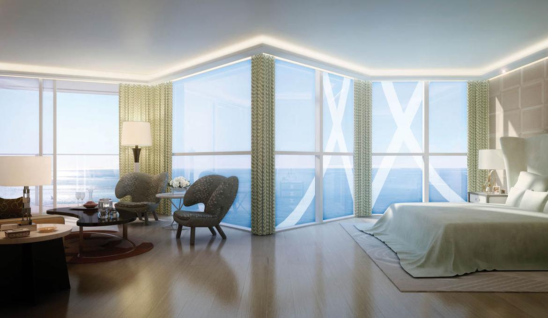 Wnętrza najdroższego apartamentu na świecie