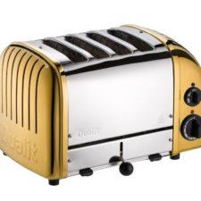 24-karatowy złoty toster Dualit