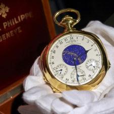 Były dyrektor Christie's zalicytował zegarek za 24 000 000$