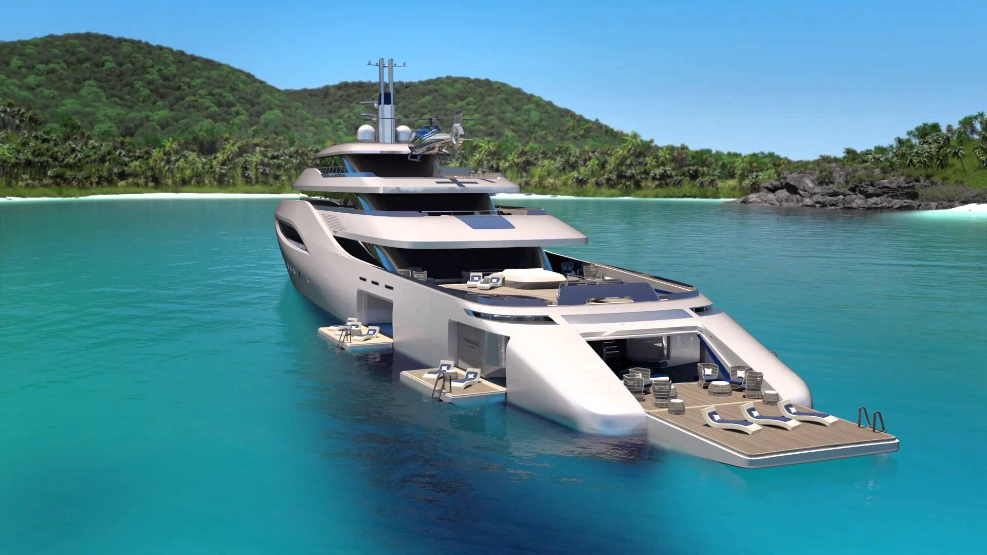 Pininfarina Zaprojektowała Jacht Ottantacinque Zapiera