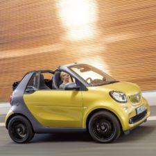 Nowy smart fortwo cabrio: Lato w mieście