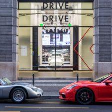 Porsche otwiera wystawę, poświęconą fascynacji sportowymi samochodami