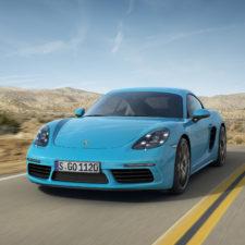Nowe Porsche 718 Cayman z 4-cylindrowym silnikiem turbo