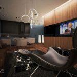 Wizualizacja 52-metrowego mieszkania w Solcu Residence