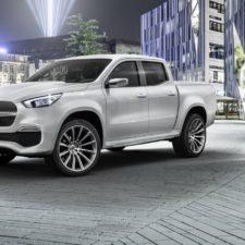 Premiera samochodu koncepcyjnego – pick-up Mercedes Klasa X