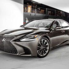 Lekkie materiały w konstrukcji nowego Lexusa LS