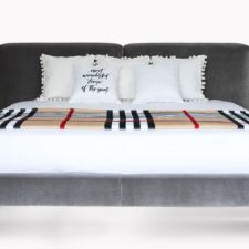 Łóżko Nico marki Rosanero – luksusowy komfort w minimalistycznym wydaniu
