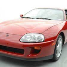 Toyota Supra 1994 sprzedana na aukcji za zawrotną sumę