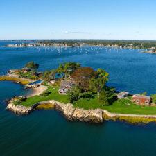 Całoroczna własna wyspa, Connecticut, USA