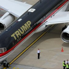 Boeing 757 należący do Donalda Trumpa