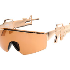 Okulary Jeremy Scott x Linda Farrow Golden Gun