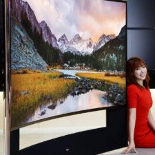 Zakrzywiony telewizor UHDTV LG 105″ – własne kino w domu?
