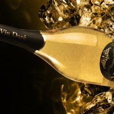 Wina musujące ze złotem od Vin Doré 24K