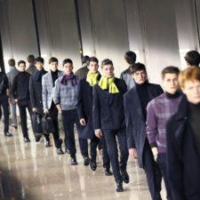 Paris Fashion Week: mężczyźni na wybiegu (jesień/zima 2016)