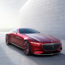 Luksus ostateczny: Vision Mercedes-Maybach 6