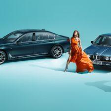 Tradycyjny luksus, elegancja i dynamika: BMW serii 7 Edycja 40 Jahre.