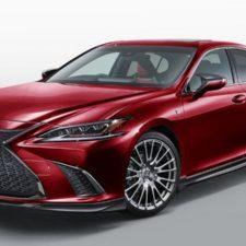 Lexus ES stuningowany przez TRD