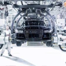 Audi instaluje używane akumulatory litowo-jonowe