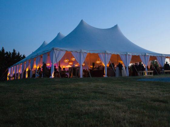 namiot na przyjęcia rodzinne